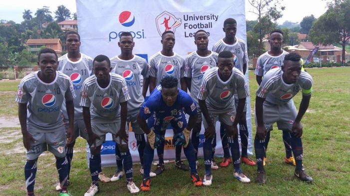 Pepsi University Football League Fixtures