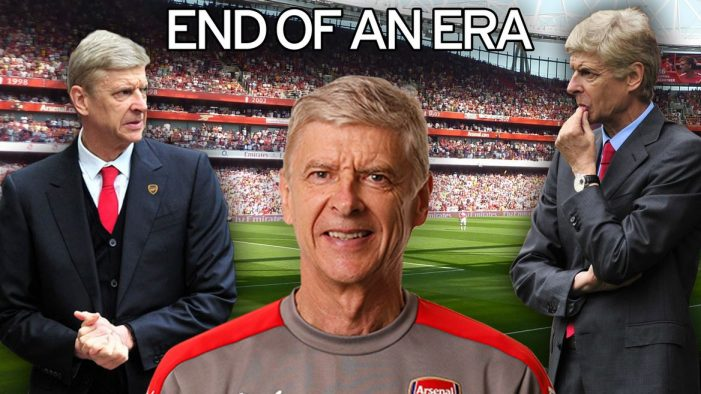 Arsene Wenger resigns as Arsenal boss as incredible 22-year reign comes to a halt