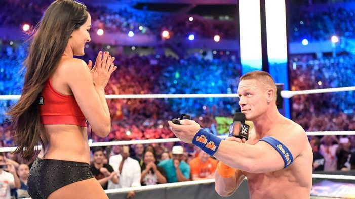WWE John Cena and Nikki Bella Break Up