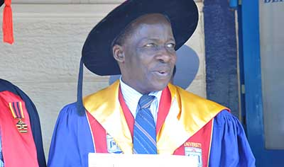 Meet Ass Professor Andrew P. Yiga, The Academic Registrar of Nkumba University