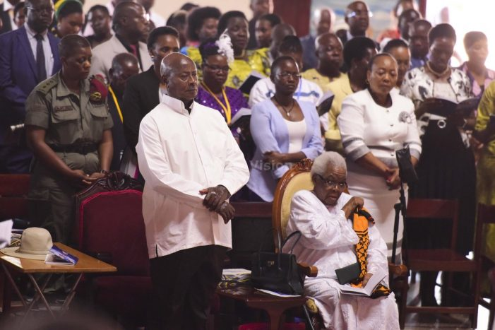 President Museveni to Help on Church House Completion