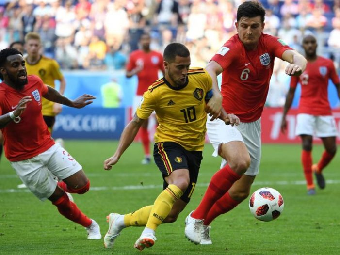 FIFA World Cup 3rd Place Playoffs Highlights Belgium 2-0 England July 14 2018