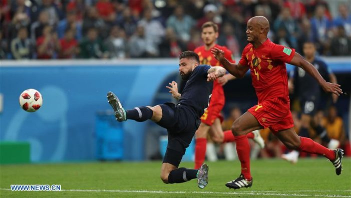 FIFA World Cup Semi Finals Highlights France 1-0 Belgium July 10 2018