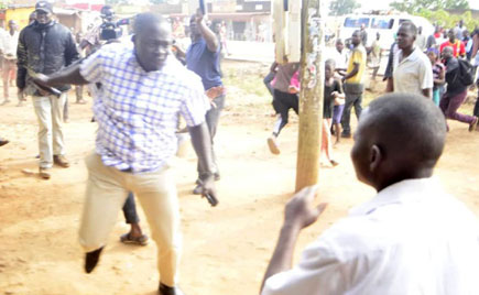 Bugiri: NRM MP beaten over bribing voters