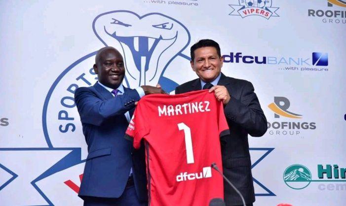 Vipers Sports Club appoint Mexican Javier Martinez as a new head coach