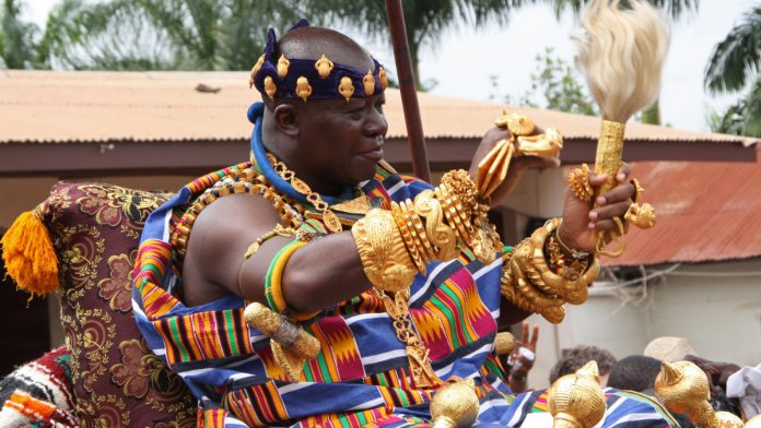 Asantehene, fifth richest King in the whole of Africa