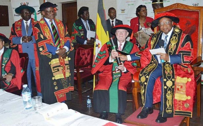 Makerere University Awards Dr. Poplack, Late Ryoichi Sasakawa Honorary Doctorates