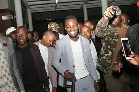 Bobi Wine Safely Lands into Kenya for a five-day visit