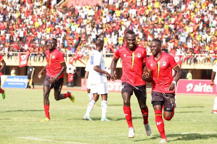 Uganda Cranes hit three past Lesotho in African Nations Cup to top Group
