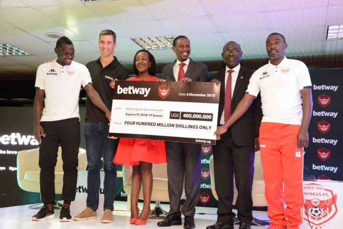 Express FC soups Sponsorship from Betway