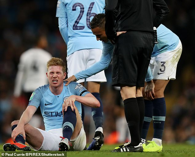 Kevin De Bruyne Ruled out for Six Weeks with Ligament Injury