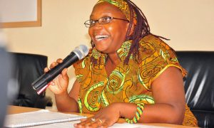 Makerere University reseacher Dr Stella Nyanzi