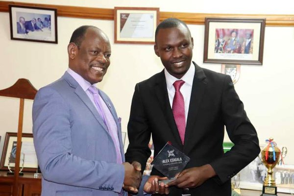 Makerere University Vice Chancellor Praises Daily Monitor Journalist for winning the Press Photo Award