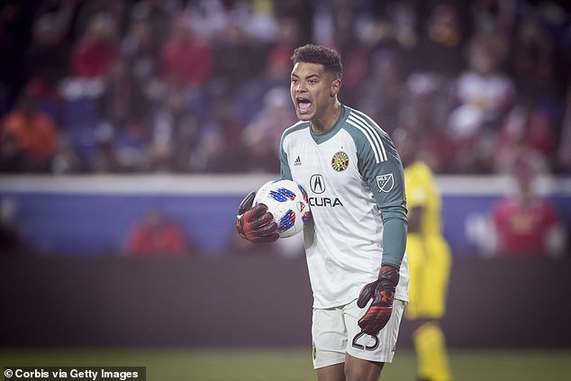 Manchester City sign goalkeeper Zack Steffen from Columbus Crew