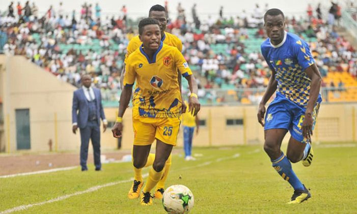KCCA FC embarrassed by Otaha D'oyo in the CAF Confederations Cup Play-Offs