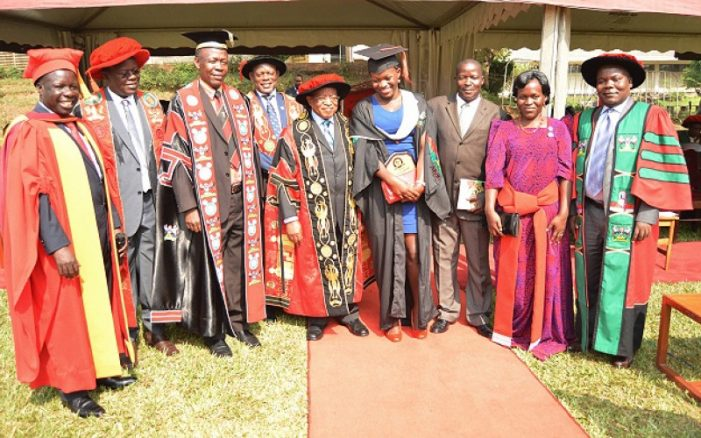 Makerere University's First Class Students for 69th Graduation Ceremony