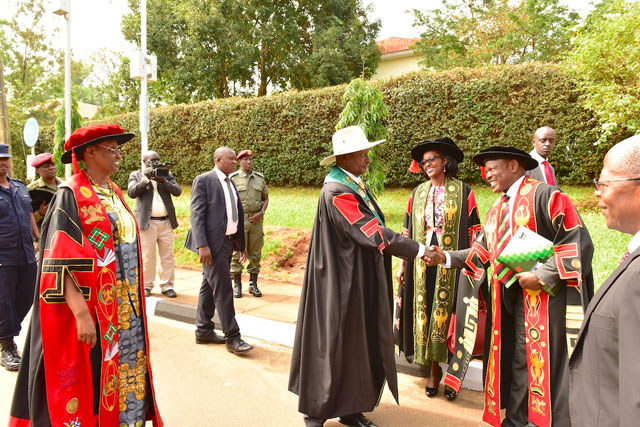 President Museveni Lauds Makerere Vice Chancellor Prof. Nawangwe for Firing Staff