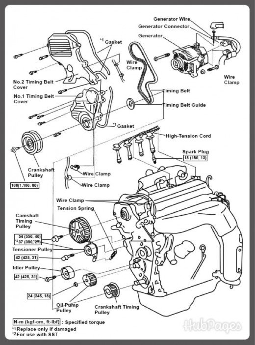 Toyota V4 Engine Diagram Control Cables  Wiring Diagram