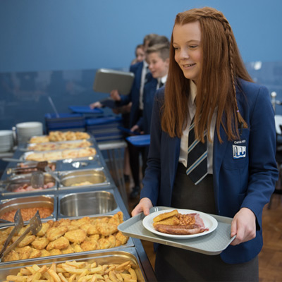 School Catering - Cams Hill School State Comprehensive Secondary