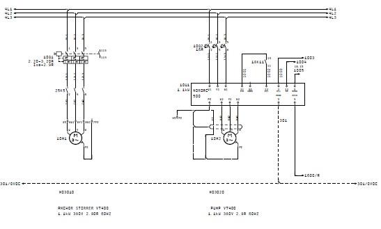 wiring schematic plc