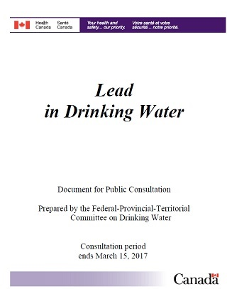 Lead in Drinking Water - Canadaca