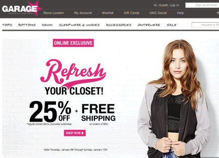 Online coupons for garage clothing  Coupon rodizio grill denver