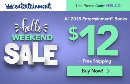 Entertainment All Coupon Books $12 + Free Shipping (Up to 76