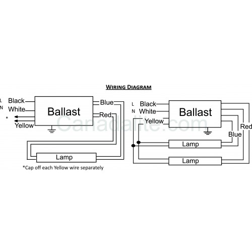 Philips Electronic Ballast Wiring Diagram - Wiring Diagram And
