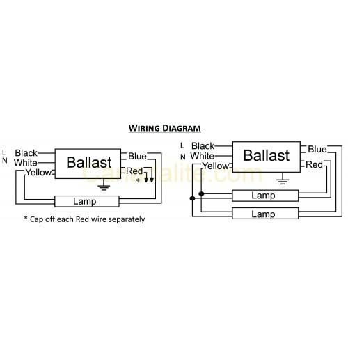 Proline T12 Ballast Wiring Diagram Wiring Diagram