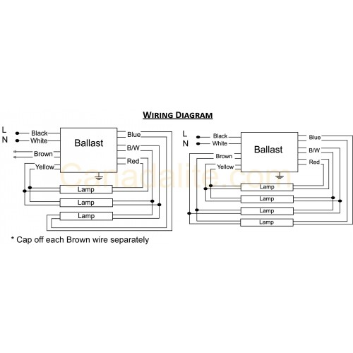 3 light 277 ballast wiring diagram