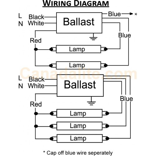 Advance Fluorescent Ballast Wiring Diagram Wiring Diagram