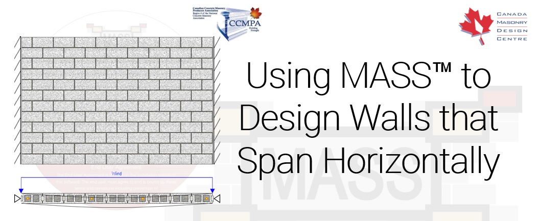 Canada Masonry Design Centre \u2013 How to use MASS to Design Walls that