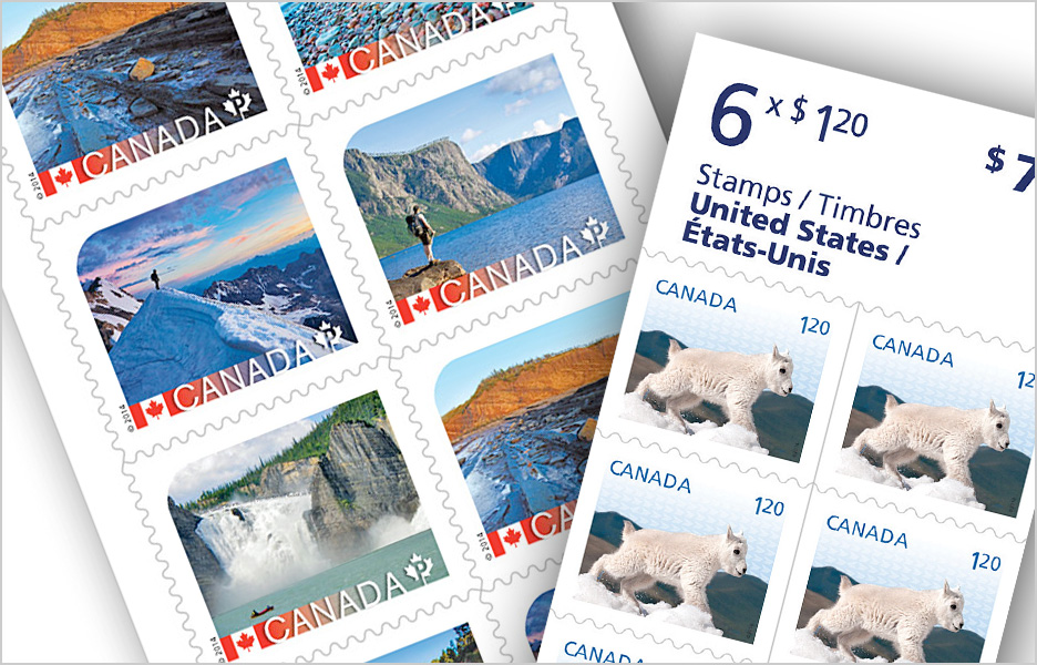Postage Stamps, meters and indicia Canada Post