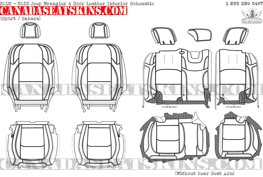 jeep wrangler jk leather seats