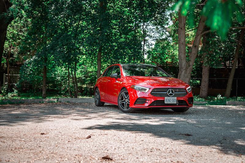 mercedes hatchback 2019