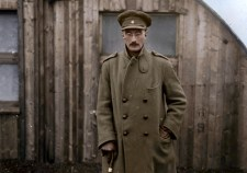 Lt Henry Mareus Strachan VC MC - Colourized Photograph