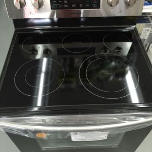Samsung Convection / Self-Clean Electric Range - Stainless Steel