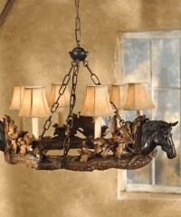 Rustic Chandeliers - Farmhouse, Lodge & Cabin Lighting