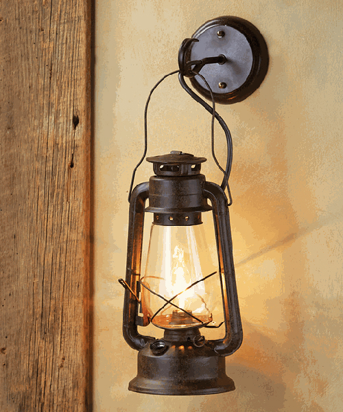 Rustic Sconces & Lodge Wall Lamps