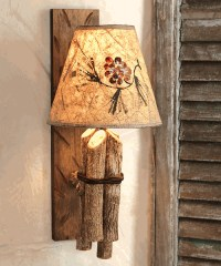 Twig Rustic Wall Lamp - Lodge Lighting