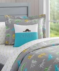 Boys Dinosaur Bedding | Organic Dinosaur Duvet