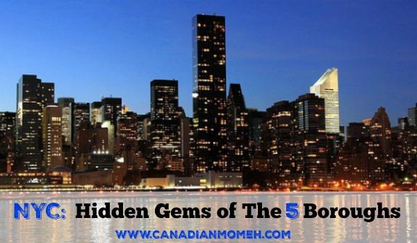 NYC: Hidden Gems of the 5 Boroughs #travel #familytravel