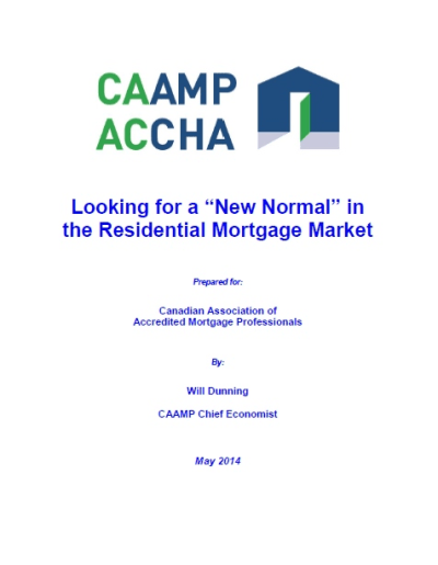 CAAMP's Spring Mortgage Report 2014 | Mortgage Rates & Mortgage Broker News in Canada