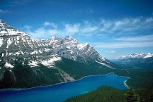 Peyto Lake © Just one of the side trips recommended by the editors along the Icefields Parkway