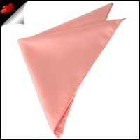Mens Coral Salmon Handkerchief