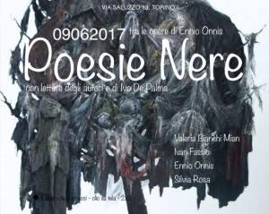 Ennio Onnis, Poesie Nere