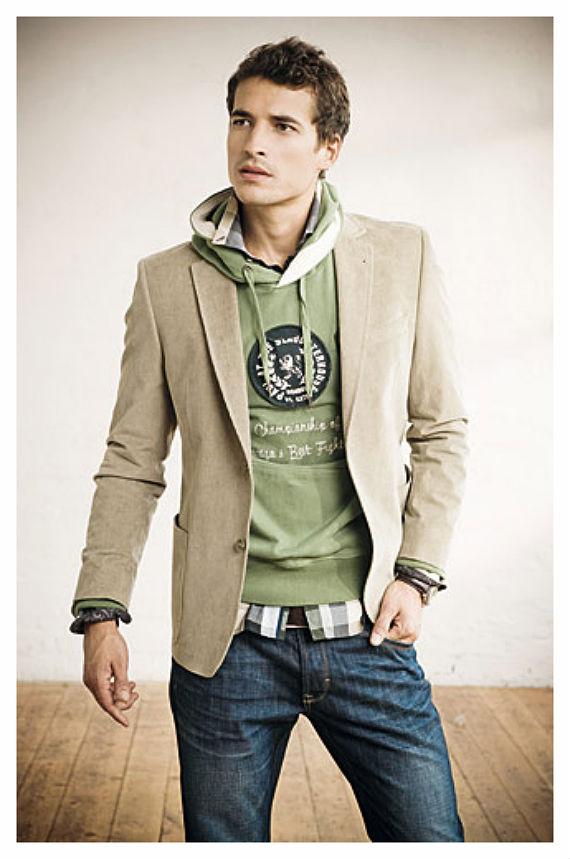 O Look Certo: Moletom, Blazer e Jeans
