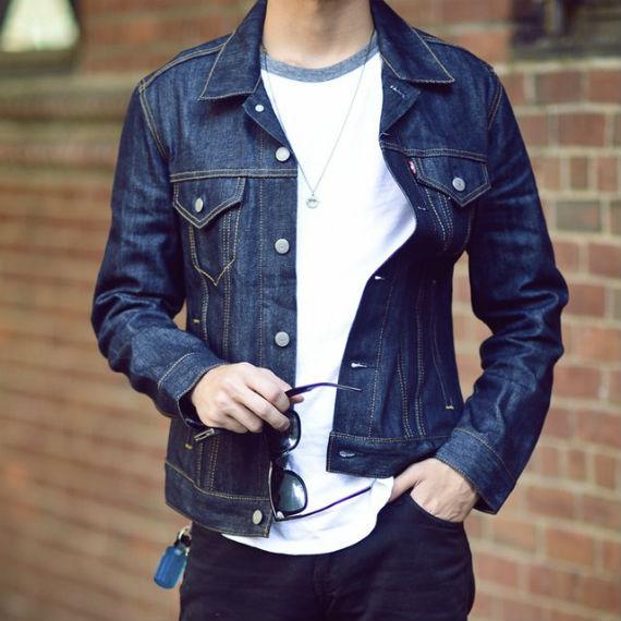 Guia de Roupas Masculinas Para o Inverno Elegante - Jaqueta Jeans