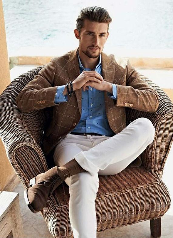 O Look Certo: Padrões na Blazer e na Camisa