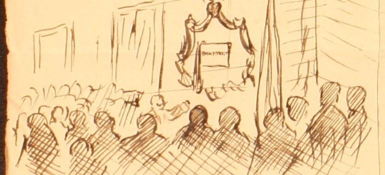 Homenaje a un maestro. Benjamín J. Miranda. 22 de septiembre de 1918.